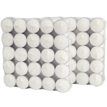 Lilin 4.5 jam tealight, set teh 6 jam