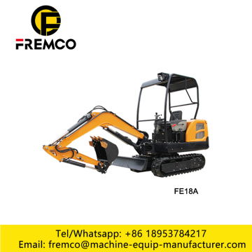 Mini 1.8 Ton Hydraulic Excavator For Sale