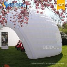 Tente de dôme gonflable de White Dome House populaire à vendre