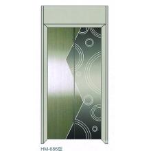 Paneles de la puerta de la cabina del elevador para el elevador del pasajero