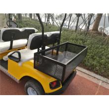 Carrinhos de golfe com bateria personalizada com caixa de carga