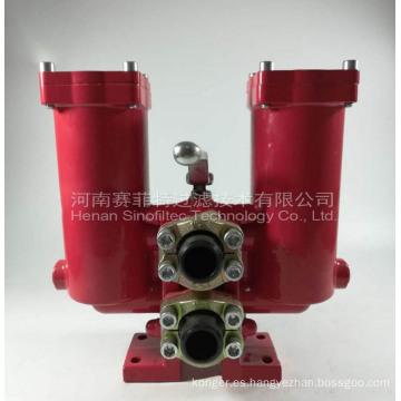Filtro de línea de baja presión serie PLF y PLFD