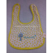 Wiederverwendbare Baby Lätzchen W / Logo bedruckt