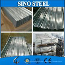 Lámina de techo de acero corrugado Gal G550 de Gl G550