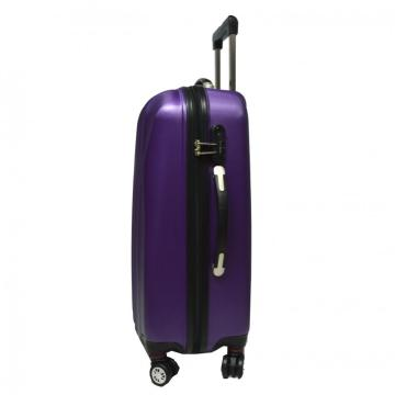 ABS Trolley Luggage Set with Airplane Wheels