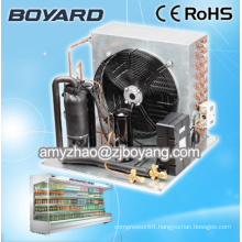 Food freezer with copeland condensing unit refrigeration parts for food processing machine