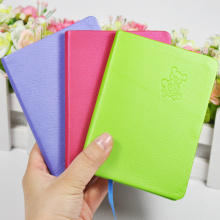 Customized Spiral Binding Notebook/Notepad with PU Hardcover