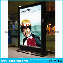 China Free Standing Rotating LED Display Light Box