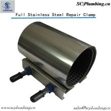Pipeline Waterworks Industry Ss304 Pipe Repair Clamp Single Band