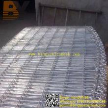Valla de malla de alambre de doble lazo