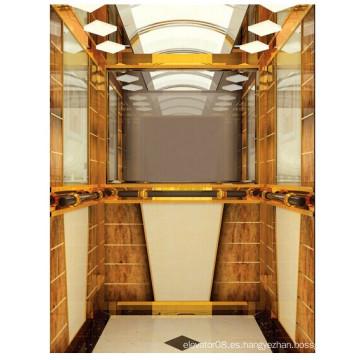 Ascensor residencial con gran capacidad y carga