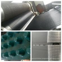 Composite Dimple Geomembrane EVA PE Sheet 0.7mm 8mm Height