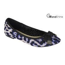 Tissu imprimé pour femme Flat Casual Ballet Shoes