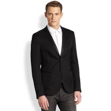 Two Button Non-Ironing Business Man Suit (W0175)