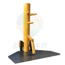 Manequim de madeira tradicional do homem Wing Chun do IP, equipamento de treino de Taekwondo