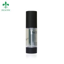 Alta qualidade 30ml transparente airless acrílico branco spray bomba garrafa série