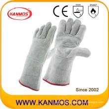 Рабочие перчатки для обеспечения безопасности на работе из натуральной кожи (1312)