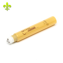 2017 venda quente 15 ml pequeno macio pe tubo cosmético embalagem para creme para os olhos