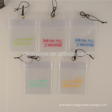 plastic pvc id card holder