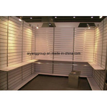 PVC Coated/Faced MDF Slat Wall for Display