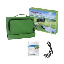 Fabricante 14W saco de tecido dobrável carregador solar para laptops