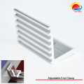 Novo Design final ajustável braçadeira com sistema de montagem Solar (302-0001)