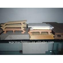 Linha de produção da placa de móveis WPC