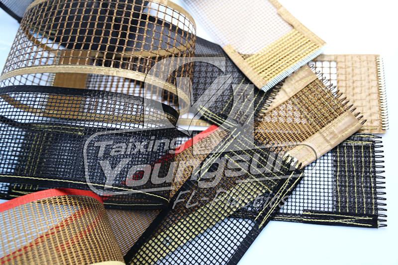 ptfe(Teflon) coated open mesh conveyor belt (4)