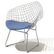 Harry Bertoia Diamond silla del brazo