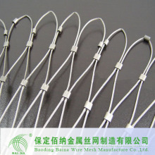 security stainless steel ferrule mesh/furrule type netting(made in china)