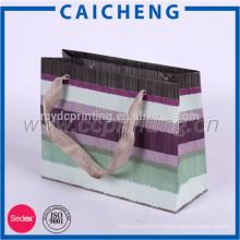 Fabrication pas cher impression de sac en papier