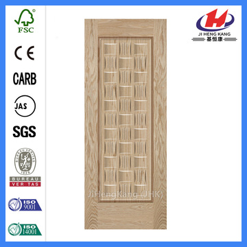 JHK-019 Lattice Ash HDF Medium Veneer Door Skin