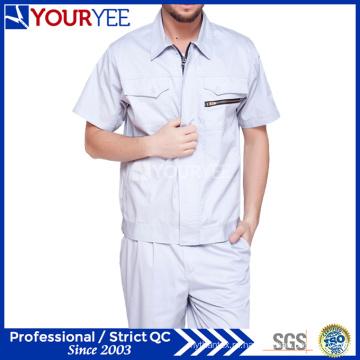 Модная рабочая одежда с короткими рукавами спецодежды (YMU119)