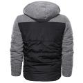 Chaqueta de abrigo al aire libre con capucha gruesa de invierno