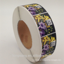 paper material self adhesive laminated label sticker for perfume