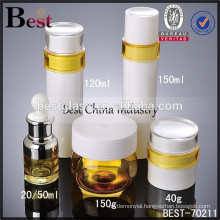 different sizes plastic container stock goods, alibaba china, airless bottles and jars, new design dropper bottle for 2015, oem