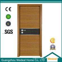 Portes intérieures de placage en bois de MDF de mélamine