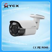 2.0 MP 1080P motorizado lente de enfoque automático HD TVI IR mini cámara de bala 2,8-8mm IR LED Array