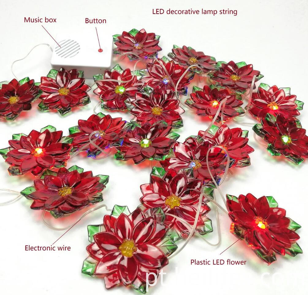 Customized Festival Gifts of LED Flowers