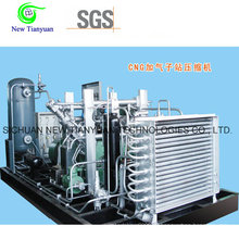 Смазочный газовый компрессор с низким уровнем шума