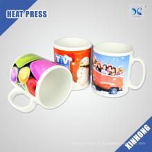 China Supply Easy To Custom Logo 11oz Sublimation weißen Becher