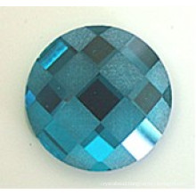 Flat Back Glass Beads Stones Frosted