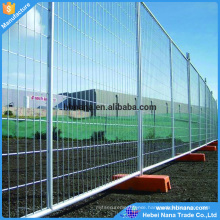 6' high x 10' long wire mesh portable panels be used temporary fences for construction