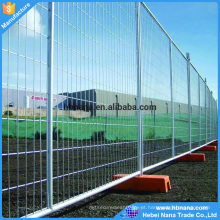 6 'alta x 10' painéis de malha de arame portátil longo ser usado cercas temporárias para construção