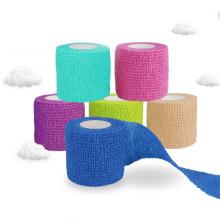 Bandagens de algodão com fita adesiva Bandagens Bandagens médicas
