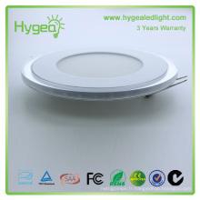 Lumière décapotable du panneau led 18w rond led panneau lumière ra> 80, fp> 0.95, smd2835, Changement de couleur lampe LED