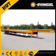 3 axles low bed semi truck trailer/truck trailer spare parts