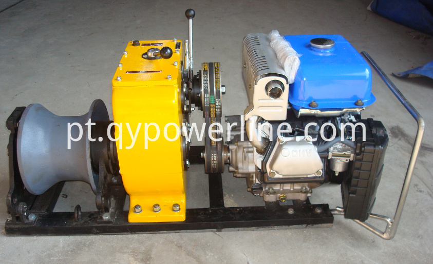 Cable Pulling Winch Machine Cable Drum Pulling Hoist Winch