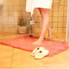 tapis de sol en caoutchouc rouleau portes intérieures microfibre chenille tapis de bain