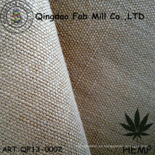 Tejido de tela de cáñamo para la ropa y el bolso (QF13-0002)